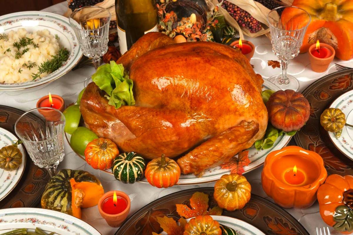 Turkey On Thanksgiving  turkeys
