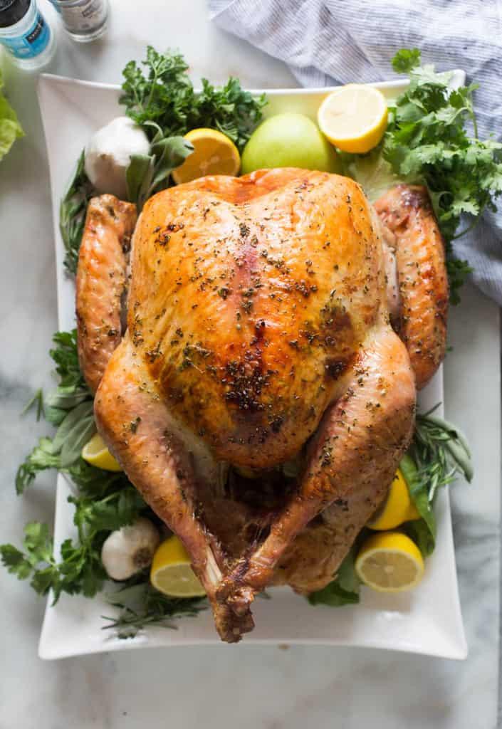 Turkey On Thanksgiving  Easy No Fuss Thanksgiving Turkey Tastes Better From Scratch