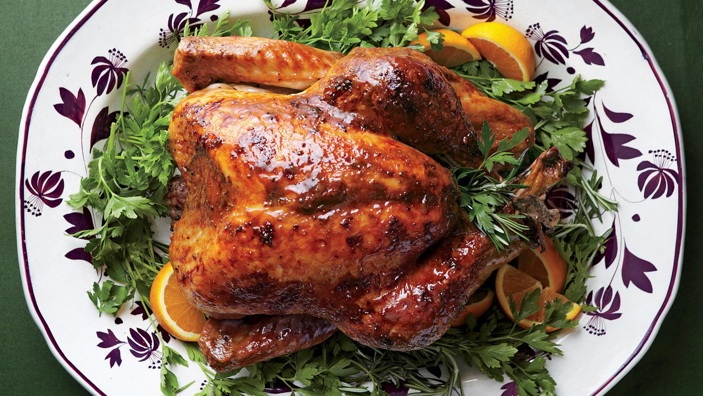 Turkey Picture For Thanksgiving  Turkey with Brown Sugar Glaze Recipe & Video