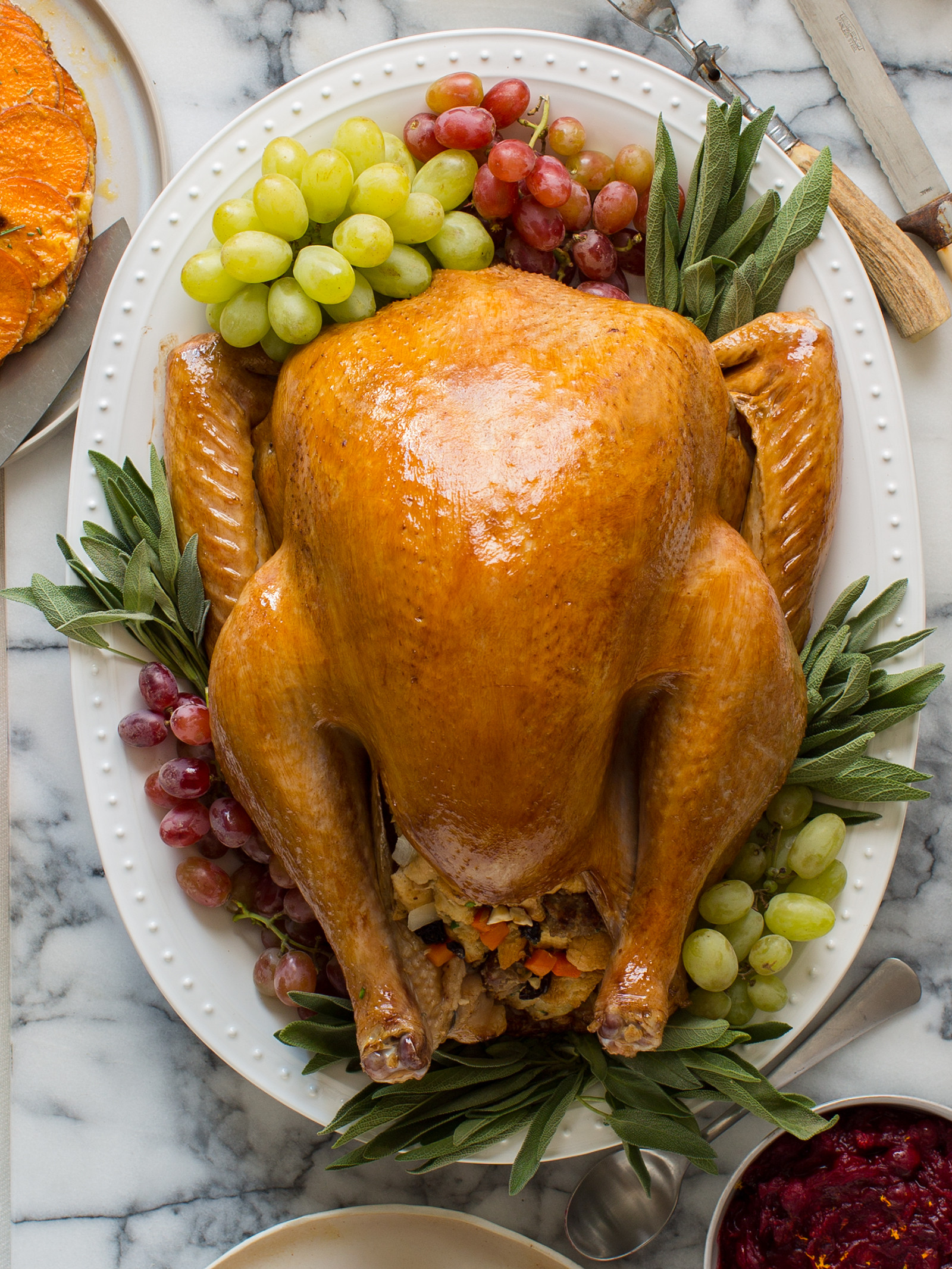 Turkey Picture For Thanksgiving  Citrus and Herb Roasted Turkey Thanksgiving