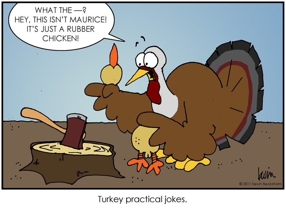 Turkey Puns Thanksgiving  Beckstrom Buzz November 2011