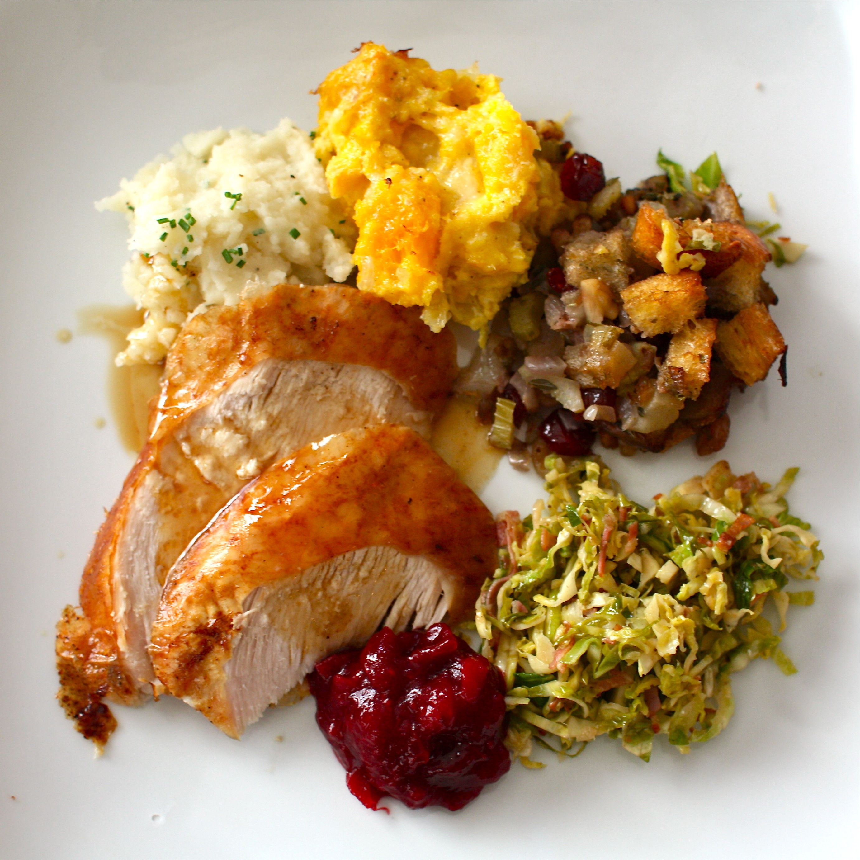 Turkey Recipes For Thanksgiving Dinner  A Simple Bites Thanksgiving Menu recipe Cranberry Orange