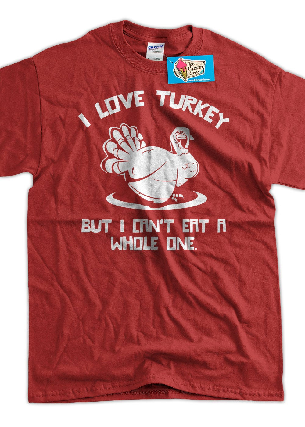 Turkey Shirts For Thanksgiving  Funny Turkey T Shirt Thanksgiving I Love Turkeys But I