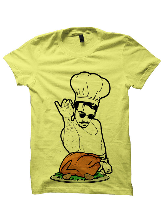 Turkey Shirts For Thanksgiving  Thanksgiving T shirt Salt Bae Turkey Shirt Funny