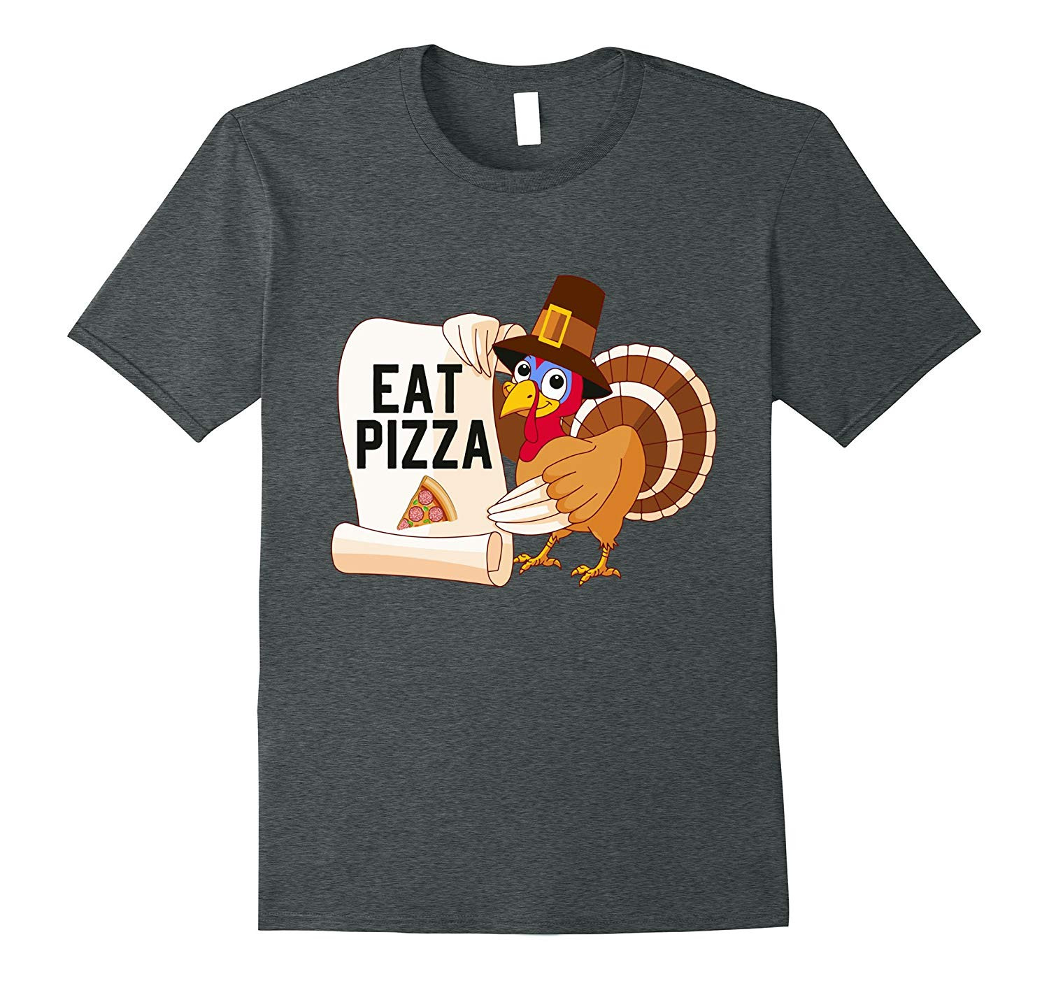 Turkey Shirts For Thanksgiving  Turkey Eat Pizza Shirt Funny Thanksgiving Shirts T Shirt