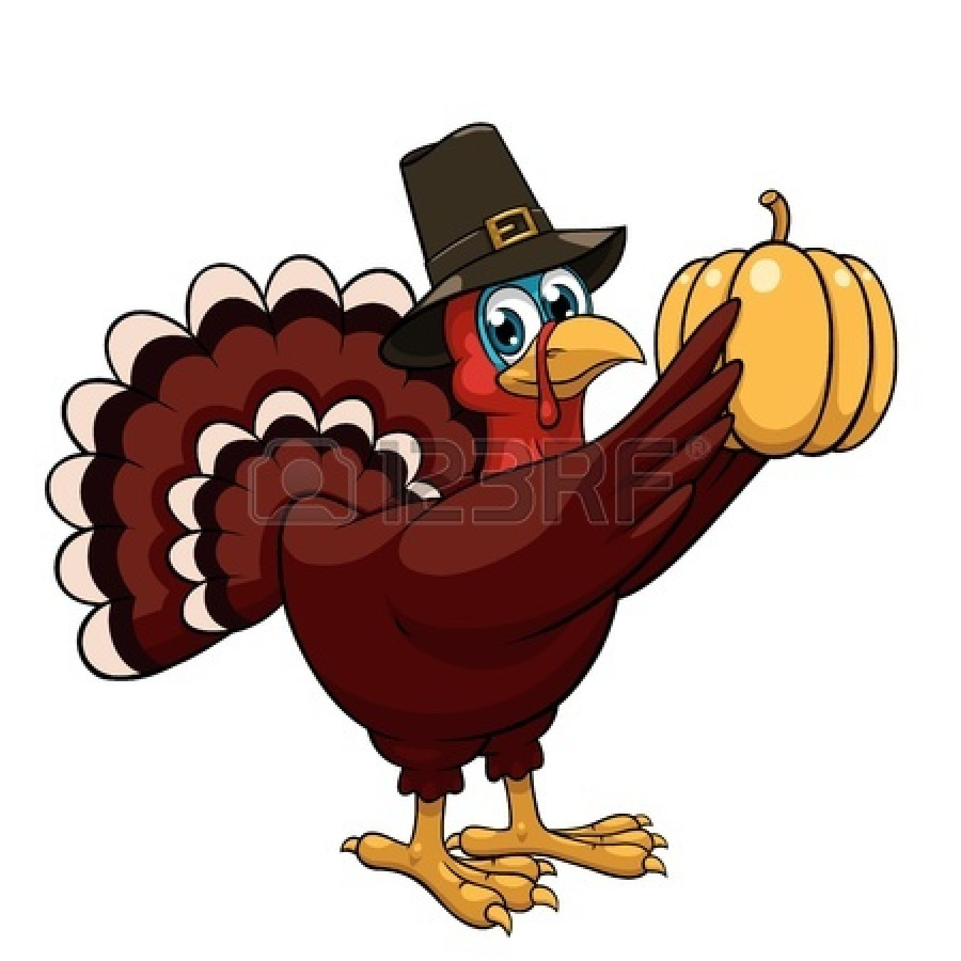 Turkey Thanksgiving Picture  Happy Thanksgiving Turkey Clipart Black And White