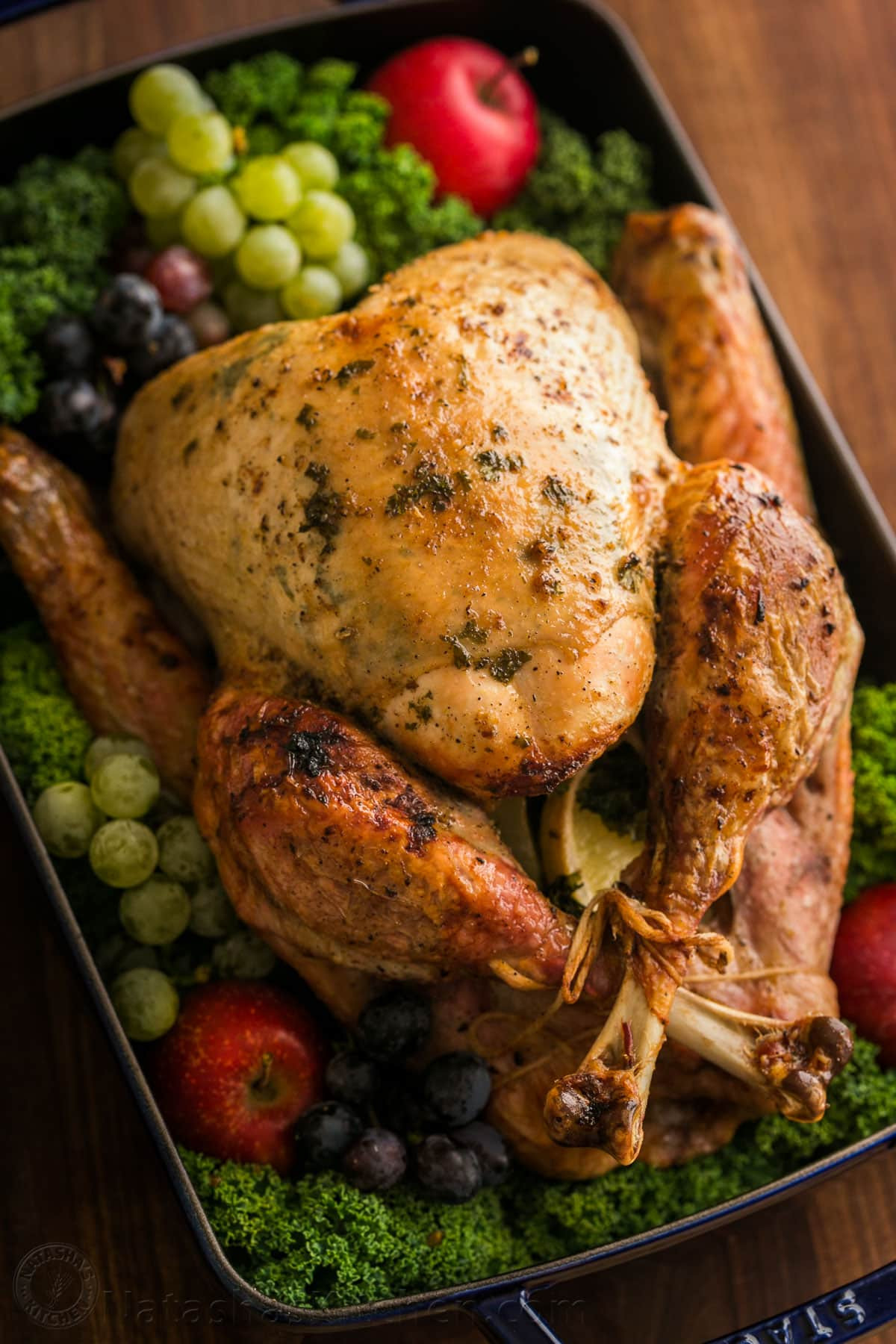 Turkey Thanksgiving Recipe  Thanksgiving Turkey Recipe VIDEO NatashasKitchen
