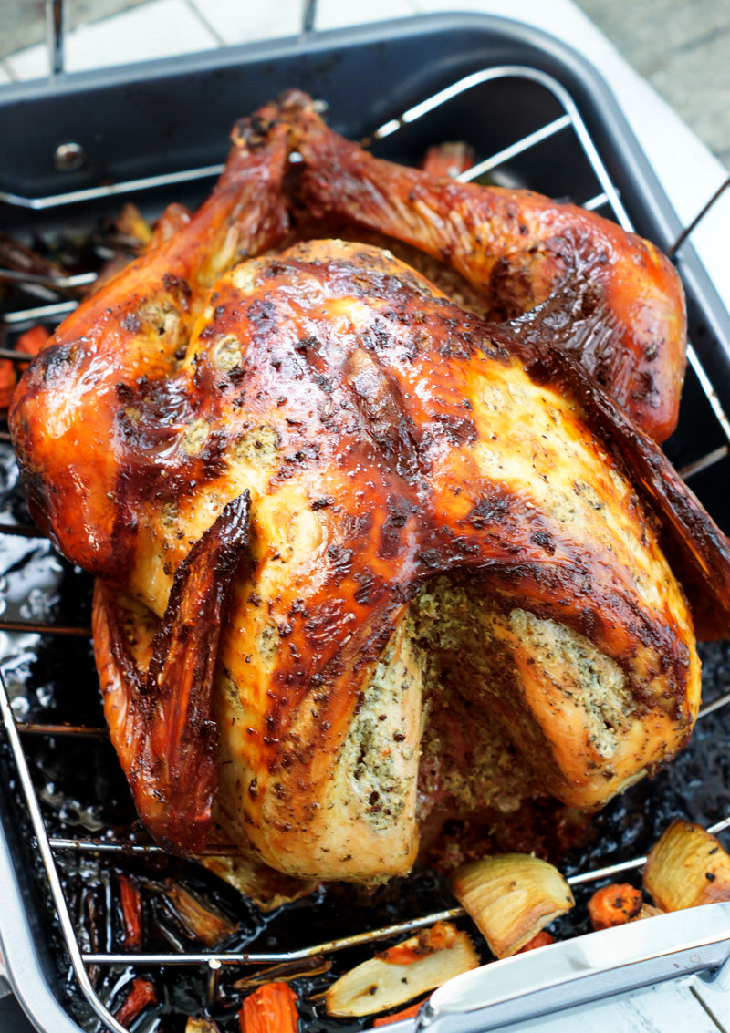 Turkey Thanksgiving Recipe  Latin Style Turkey Recipe