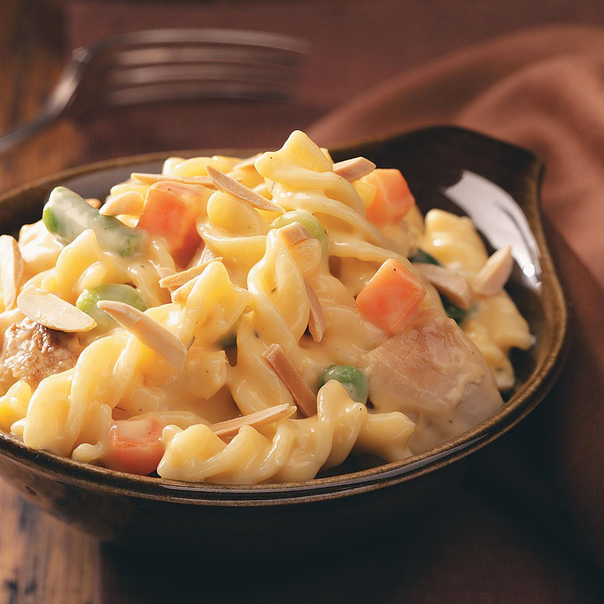Turkey Thanksgiving Recipe  Cheddar Turkey Casserole Recipe