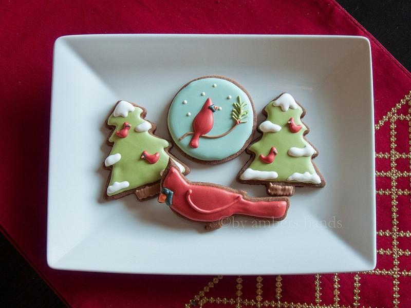 Type Of Christmas Cookies  Cardinal Christmas Cookies Three Types of Cookie