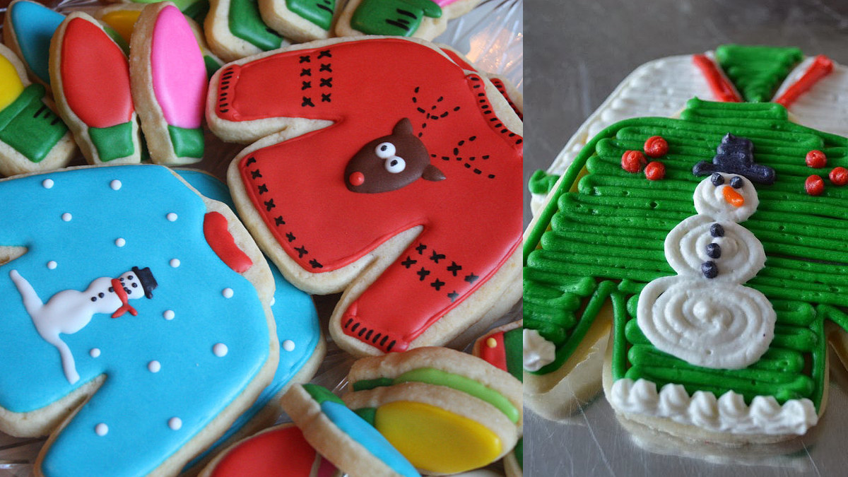 Ugly Christmas Sweater Cookies  A Guide to Making the Cutest Ugly Christmas Sweater