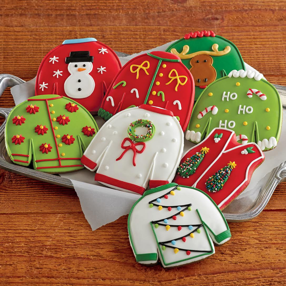 Ugly Christmas Sweater Cookies  You re Wel e You re Wel e [GIFTED] Ugly Holiday
