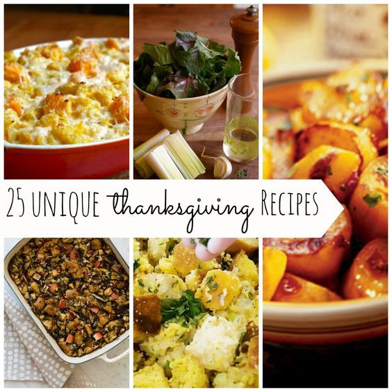 Unique Thanksgiving Side Dishes  25 Unique Thanksgiving Side Dish Recipes at Ya Gotta Have
