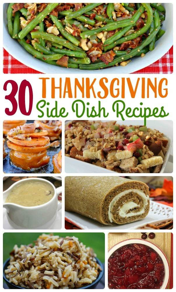 Unique Thanksgiving Side Dishes  30 Unique Thanksgiving Side Dish Recipes A Mom s Take