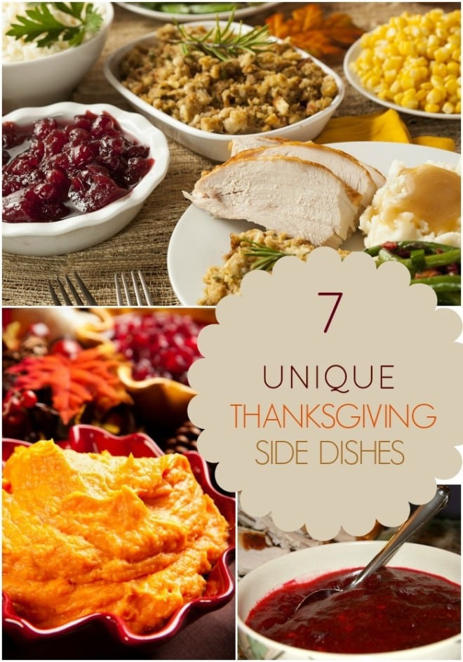 Unique Thanksgiving Side Dishes  Homemade Apple Cider Cranberry Sauce Spaceships and
