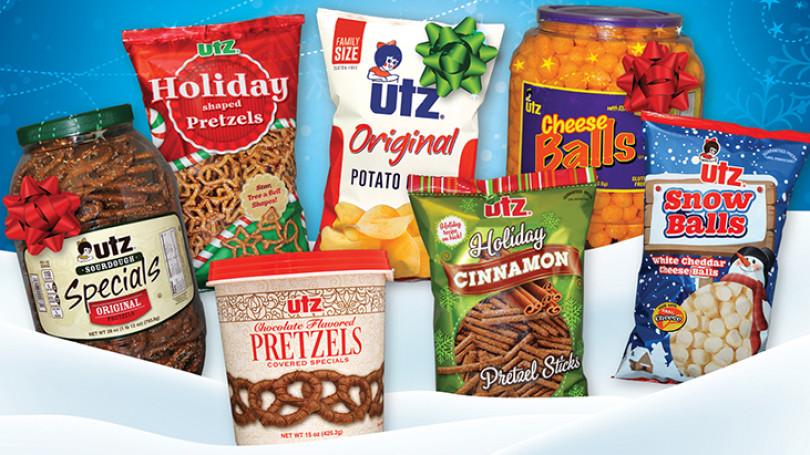 Utz Christmas Pretzels  9 Convenience Brands With Extra Buzz