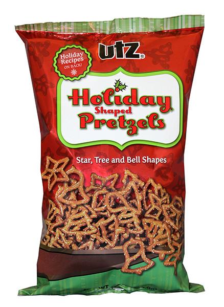 Utz Christmas Pretzels  Allergence by SnackSafely Utz Pretzel Holiday Shaped