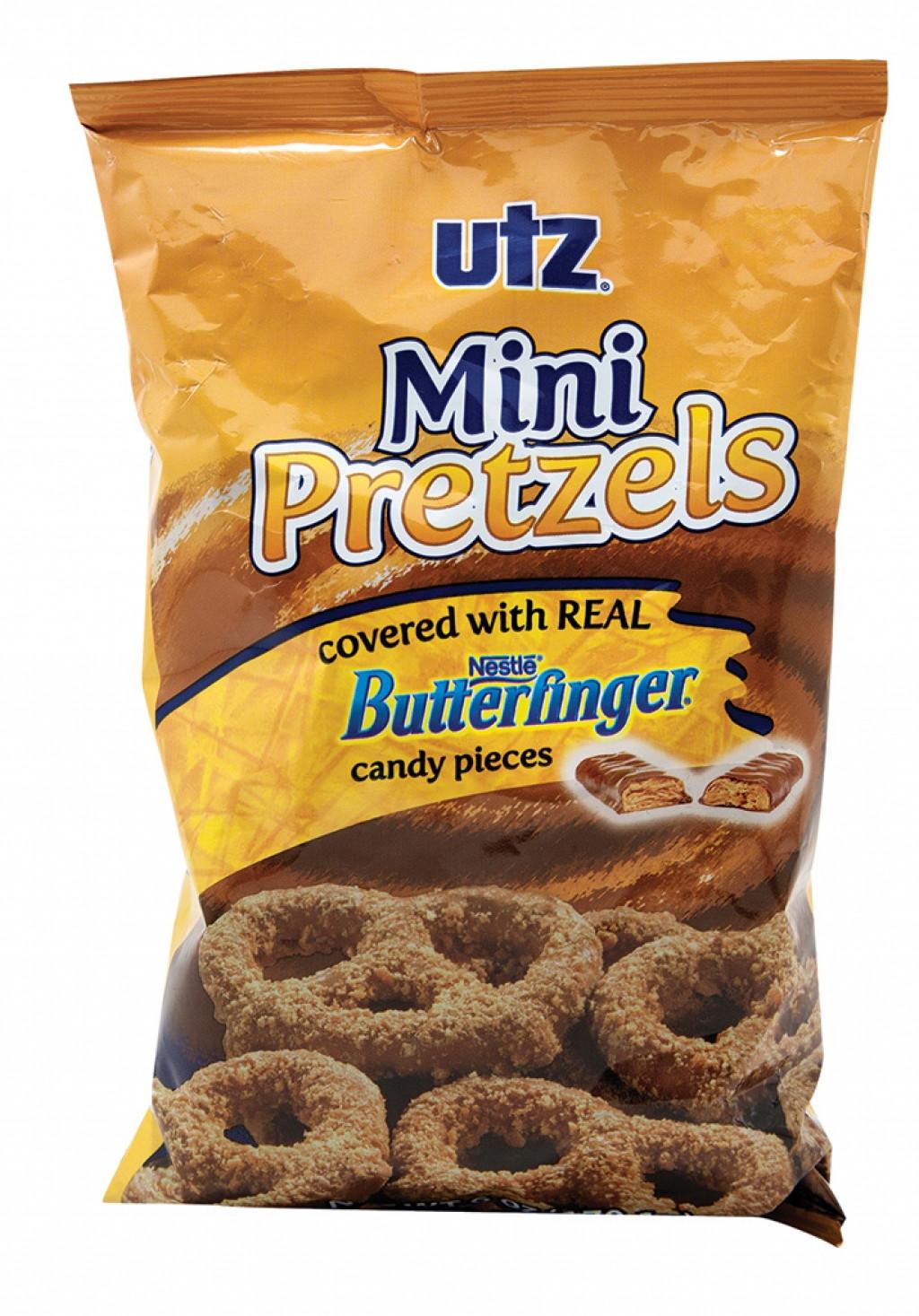 Utz Christmas Pretzels  Utz Butterfinger Pretzels Nug Markets Daily Dish