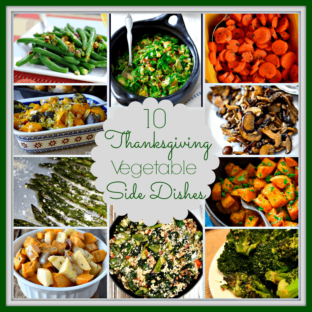 Vegetable Side Dishes For Thanksgiving  The Answer Is Chocolate
