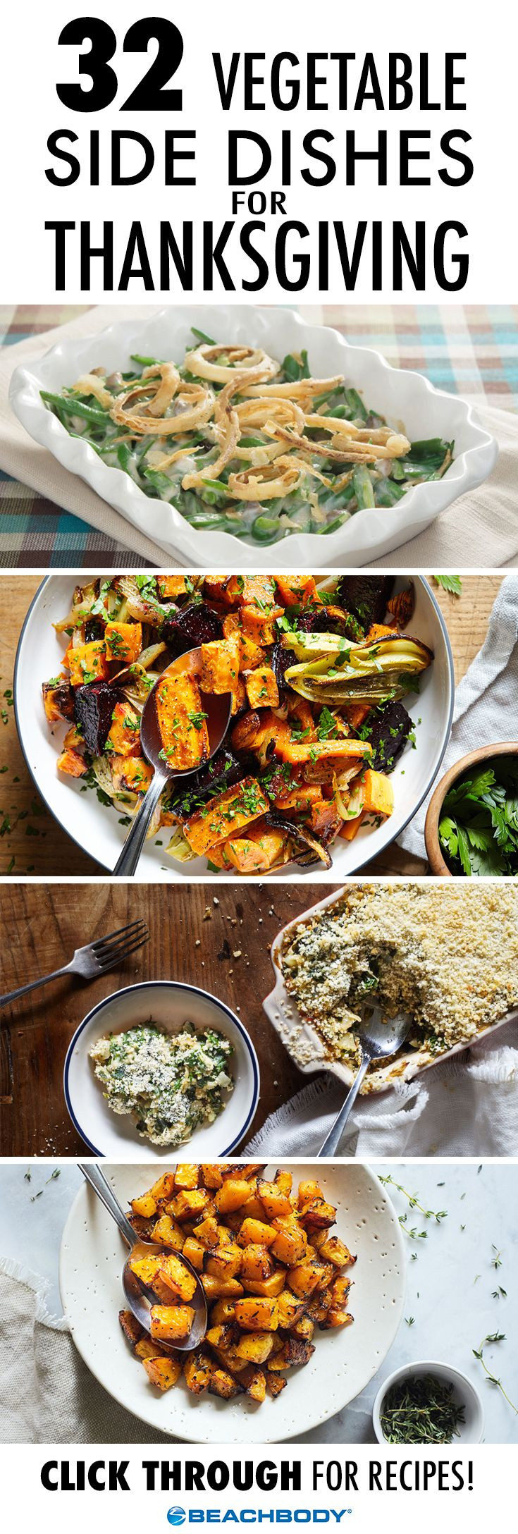 Vegetable Side Dishes For Thanksgiving  837 best images about Healthy Recipes on Pinterest