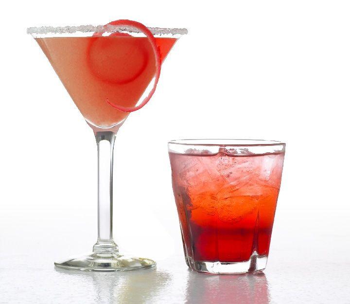 Vodka Christmas Drinks  Holiday Cocktails recipe Berry Merry Xmas Pomegranate