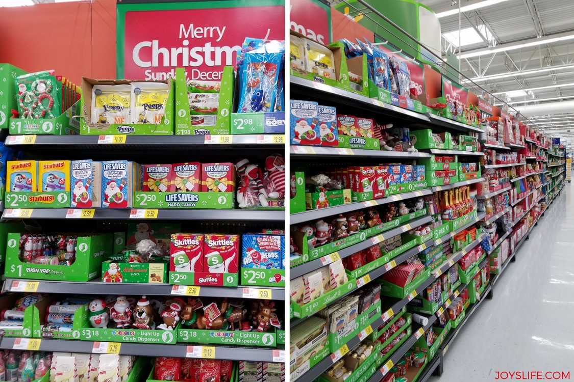 Walmart Christmas Candy  Easy Christmas Stocking Tutorial