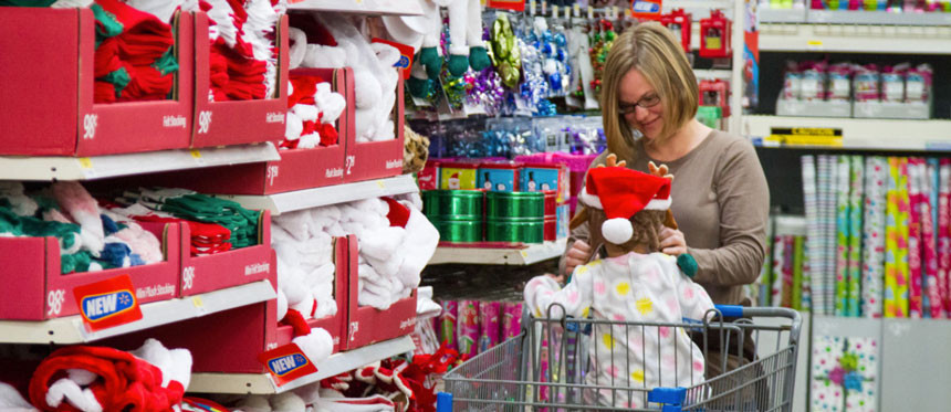 Walmart Christmas Candy  brandchannel Walmart Tar Push Hard With Holiday Campaigns