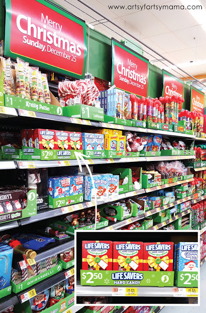 Walmart Christmas Candy  Mini Christmas Stocking Gift Idea