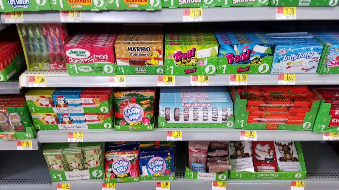 Walmart Christmas Candy  Walmart Christmas Candy & Snacks 🤶🎅