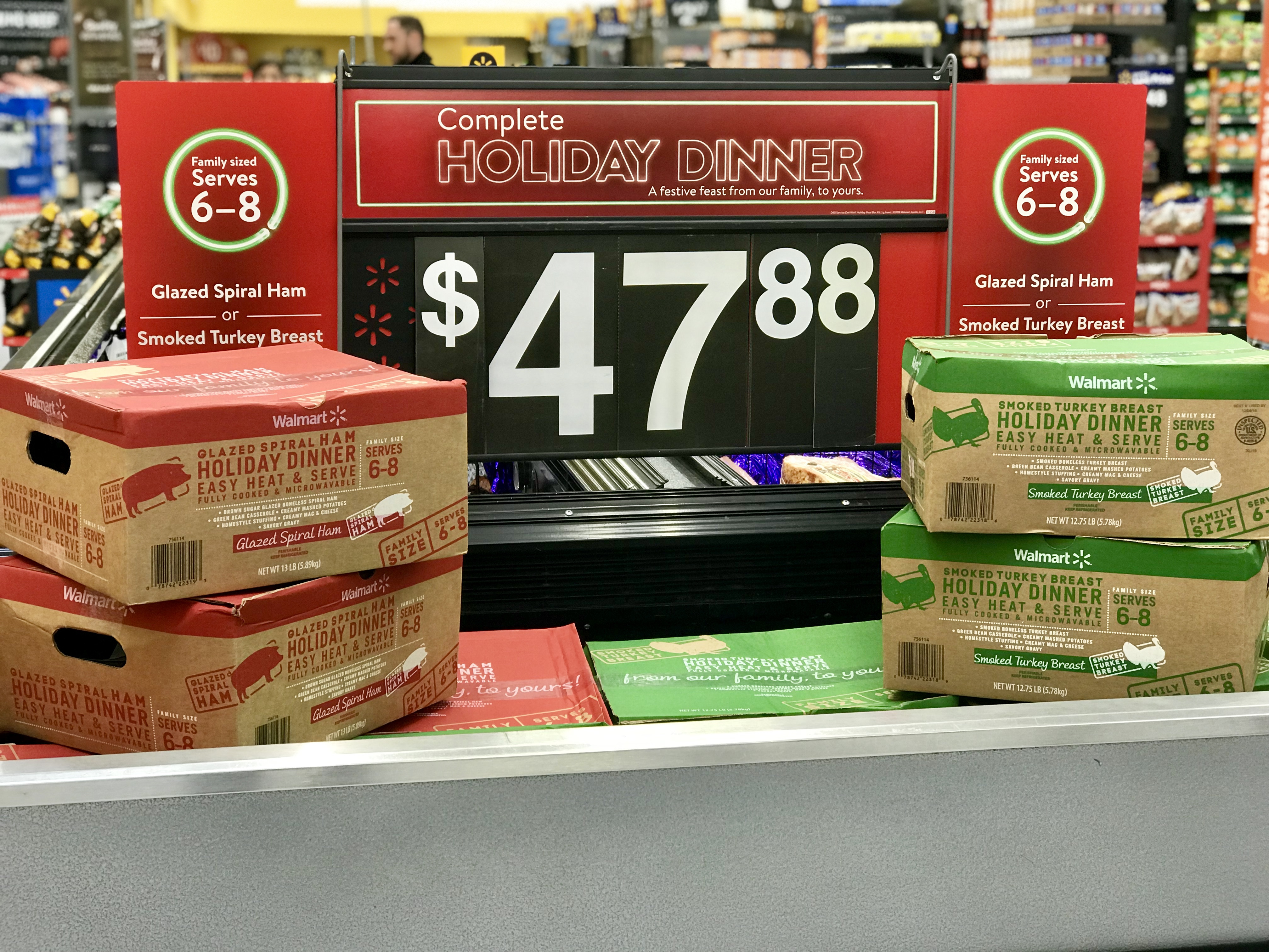 "Walmart Christmas Dinners  Walmart starts selling ""Thanksgiving Holiday Dinner"" kits"