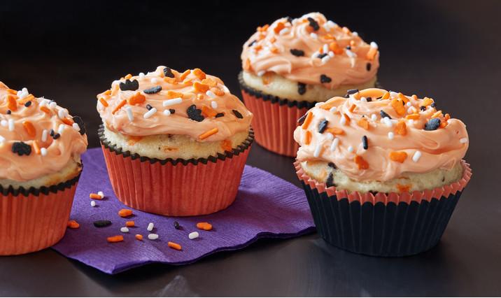 Walmart Halloween Cupcakes  Funfetti Color Me Halloween Cupcakes Recipe Walmart