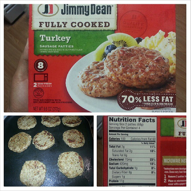 Walmart Pre Cooked Thanksgiving Dinners  Shannon s Lightening the Load Jimmy Dean Turkey Sausage