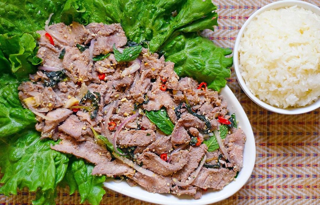 Waterfall Beef Salad  Nam Tok Neua Thai Waterfall Beef Salad – sheiladipity