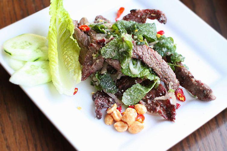 Waterfall Beef Salad  Nam Tok Thai Waterfall Grilled Beef Salad Recipe on Food52