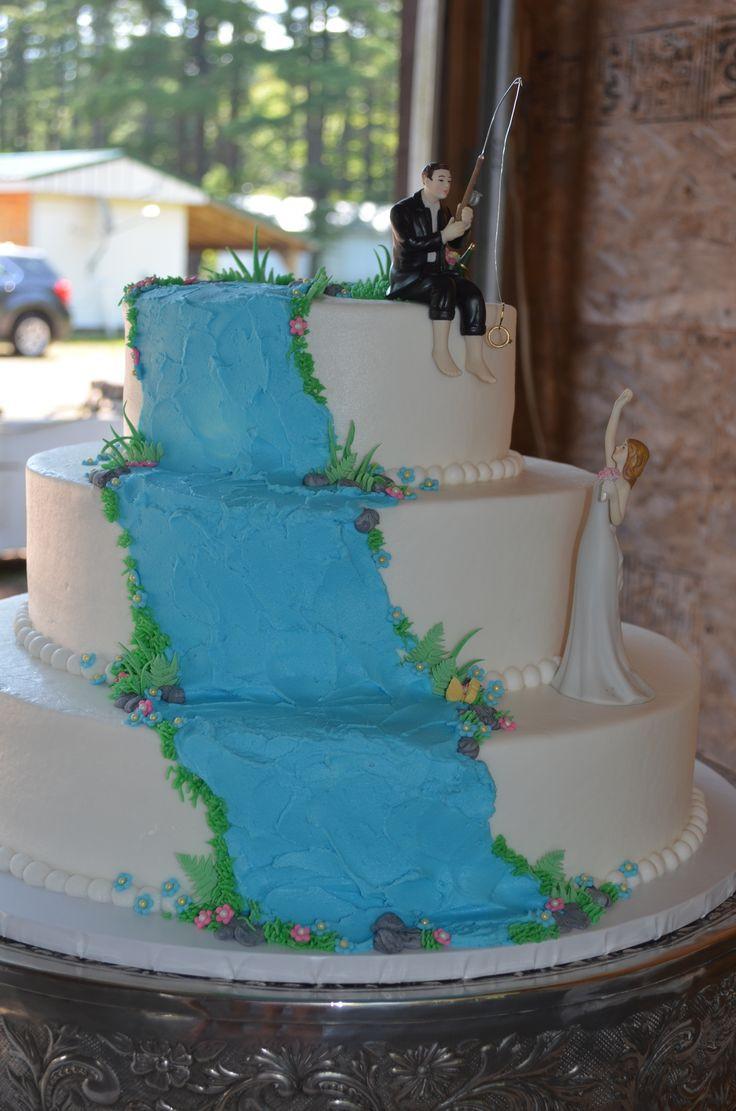 Waterfall Wedding Cakes  Waterfall wedding cake My Cakes