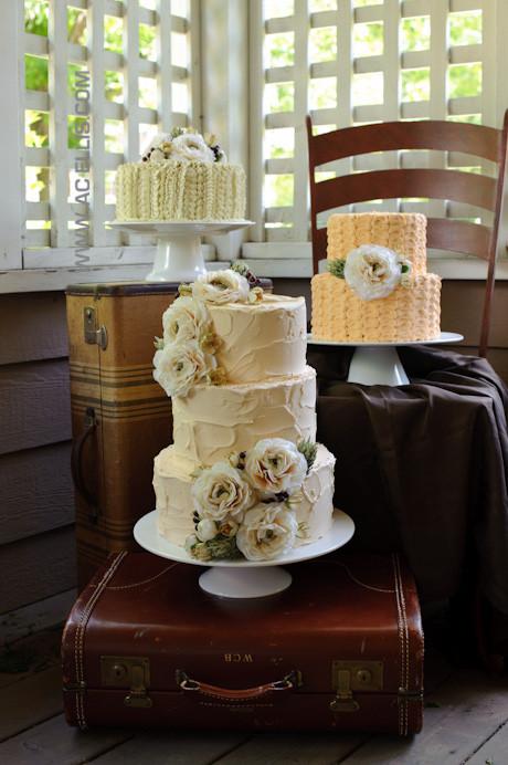 Wedding Cakes Sioux Falls Sd  Textured Vintage Wedding Cakes The Cake Lady Sioux Falls