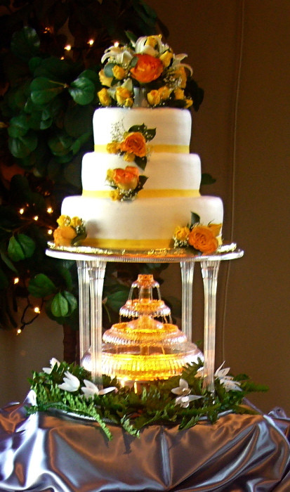 Wedding Cakes With Waterfalls  Waterfall Wedding Cake My Tucson Wedding