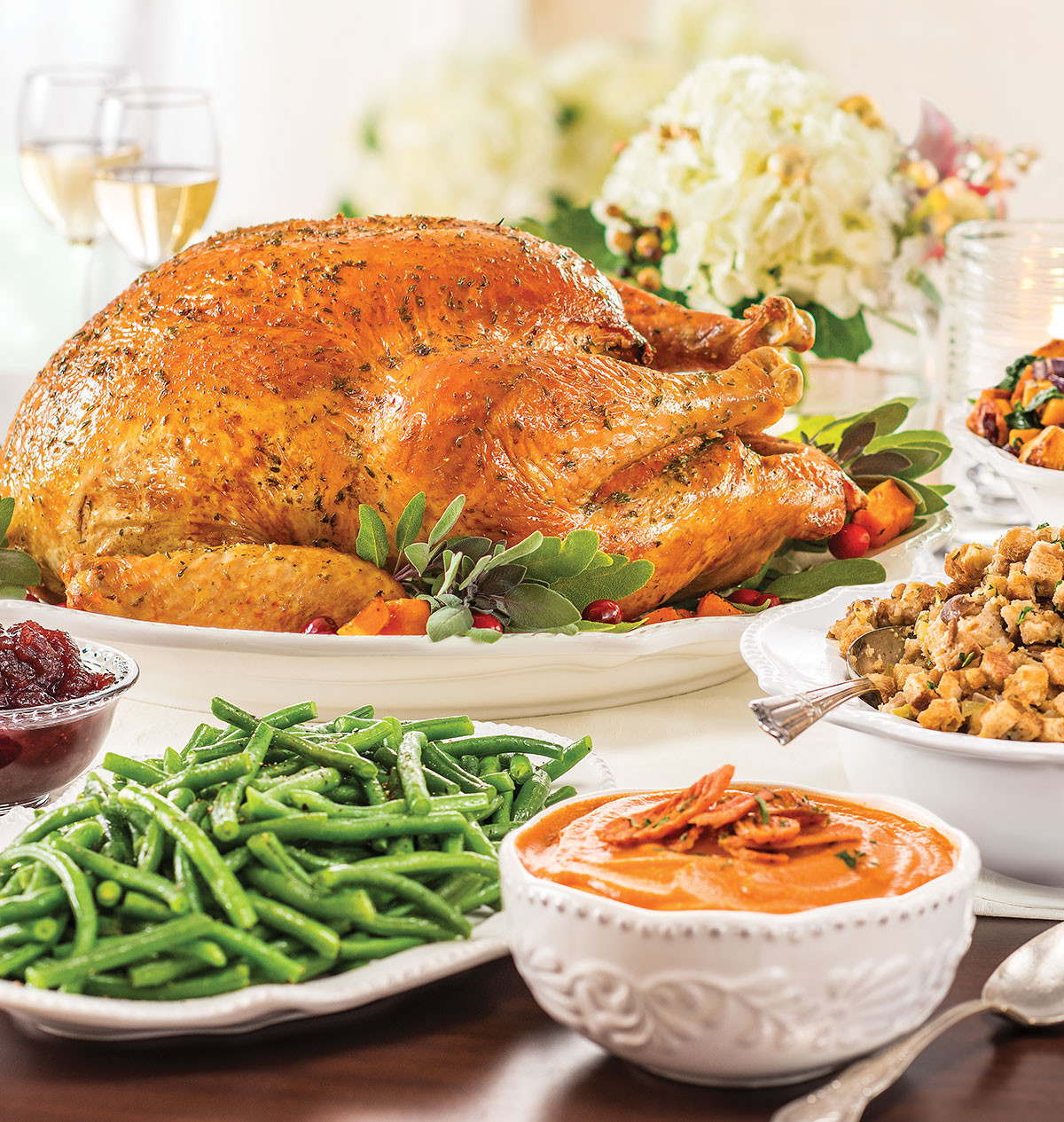 Wegmans Christmas Dinners  turkey sage meatloaf wegmans