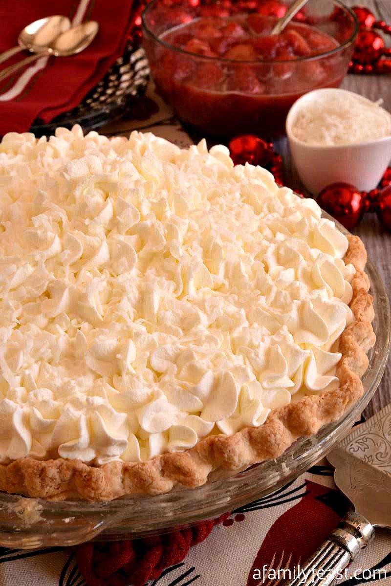 White Christmas Pie Recipes  White Christmas Pie A Family Feast