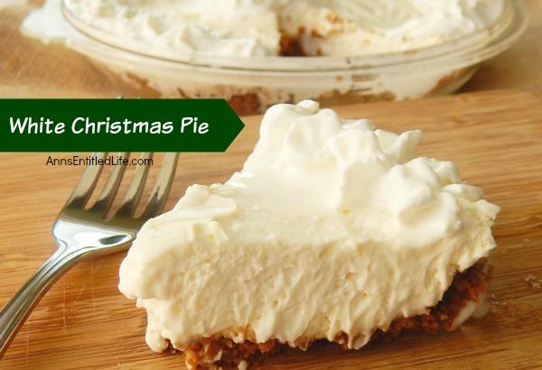 White Christmas Pie Recipes  White Christmas Pie Recipe