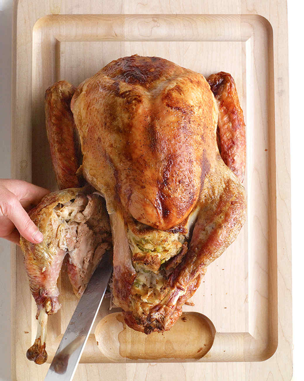 Who Will Carve The Turkey This Thanksgiving  How to Carve a Turkey in Four Steps