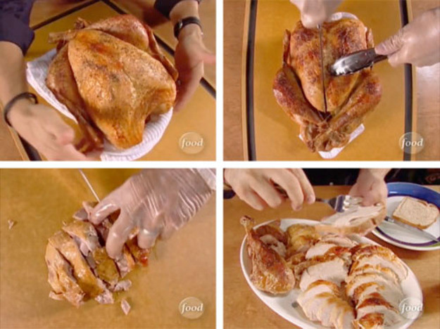 Who Will Carve The Turkey This Thanksgiving  Video Alton Brown on How to Carve a Turkey