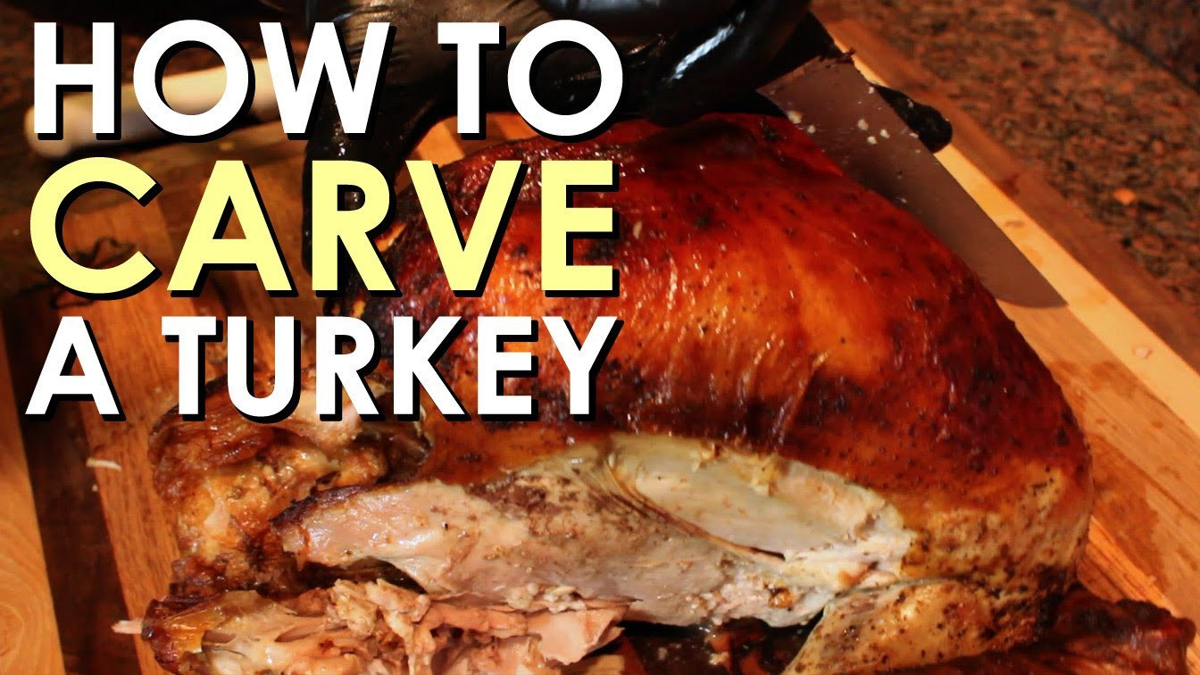 Who Will Carve The Turkey This Thanksgiving  How to Carve a Turkey The plete Guide