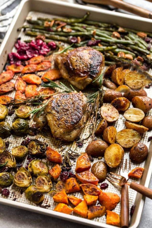 Whole Foods Thanksgiving Dinner Review  Sheet Pan Turkey Dinner