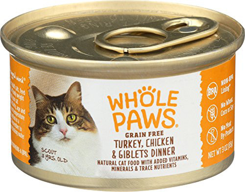 Whole Foods Thanksgiving Dinner Review  Whole Paws Turkey & Chicken Dinner Cat Food Review