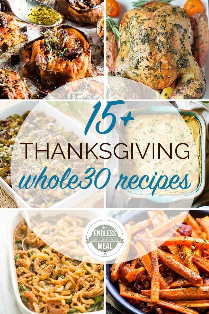 Whole30 Thanksgiving Recipes  The 15 Best Whole30 Thanksgiving Recipes