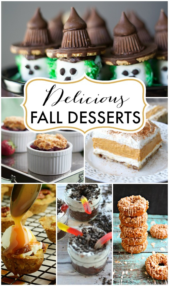 Yummy Fall Desserts  WORK IT WEDNESDAY PLACE OF MY TASTE