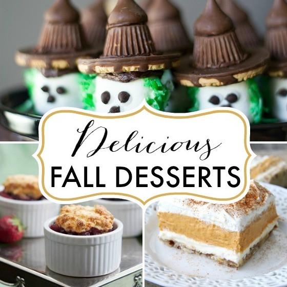 Yummy Fall Desserts  7 Delicious Fall Desserts